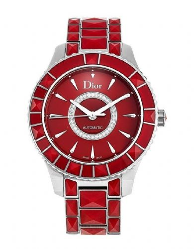 CHRISTIAN DIOR Christal Diamond & Red Sapphire Dior Christal Ladies Watch CD144511M001
